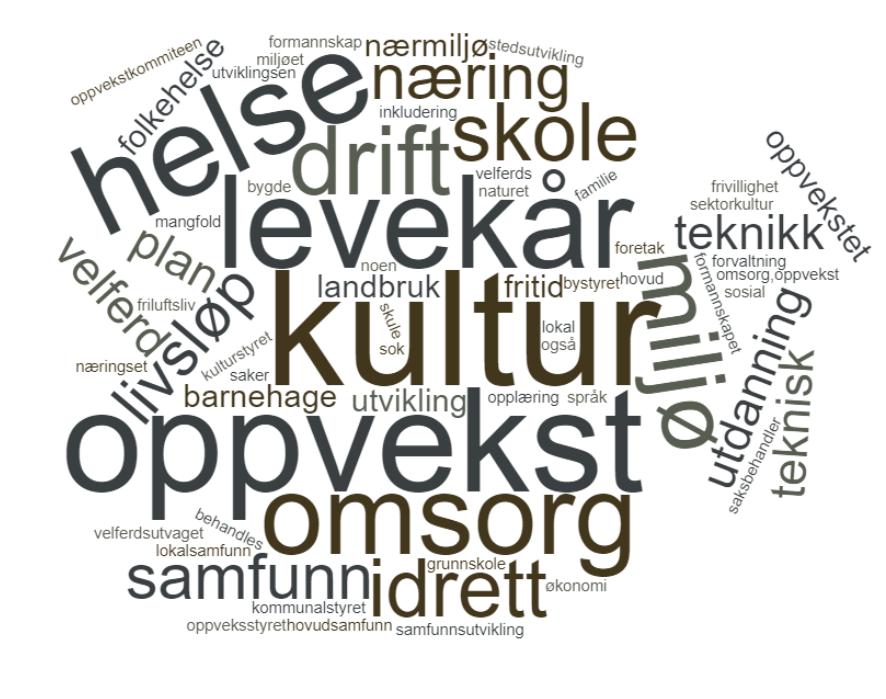 Organisering og kompetanse i kommunal kultursektor